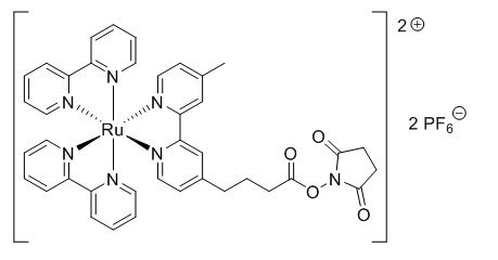 Structure of TAG-NHS-Ester CAS 161698-59-5