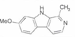 Structure of Harmine CAS 442-41-3